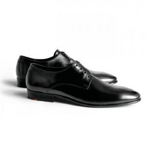 Lloyd Joe Plain Toe Shoes Black Image