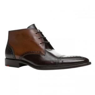Lloyd Paltos Punch Toe Chukka Boots Ebony/Kenia Image