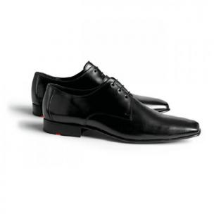 Lloyd Point Calfskin Dress Shoes Black Image