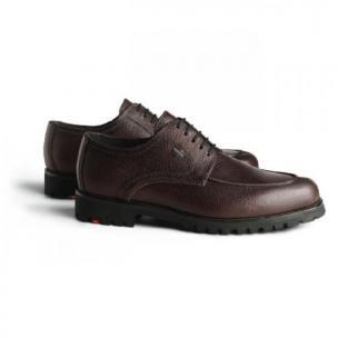 Lloyd Valdez Pebble Grain Split Toe Gore-Tex Shoes TD  Image
