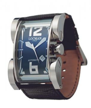 Locman Mens Latin Lover Watch Black 500BK Image
