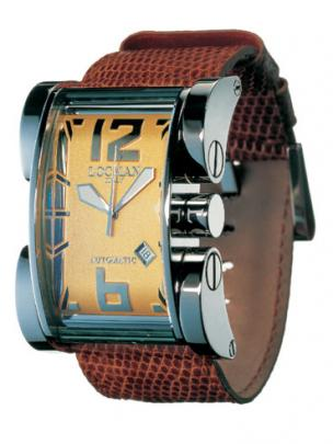 Locman Mens Latin Lover Watch Gold 50000GD0005LUN Image