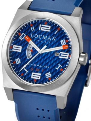 Locman Mens Stealth Watch Blue 200BLKVL Image