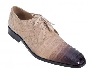 Los Altos Caiman Belly Derby Shoes Faded Oryx Image