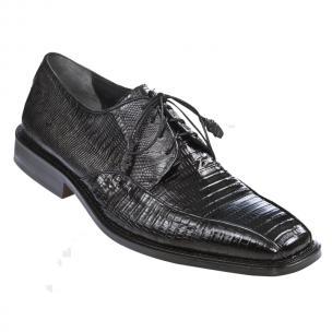 Los Altos Lizard Bicycle Toe Shoes Black Image