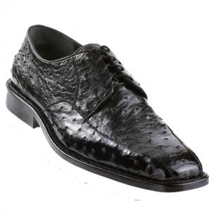 Los Altos Ostrich Bicycle Toe Shoes Black Image