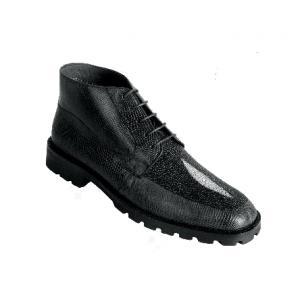 Los Altos Stingray & Lizard Boots Black Image