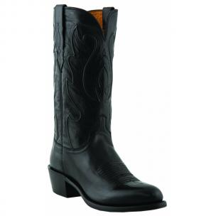 Lucchese M1006.R4 Ranch Hand Leather Boots Black Image