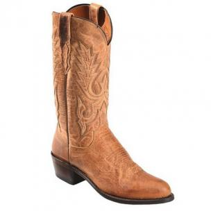 Lucchese M1008.R4 Goat Leather Boots Tan Image