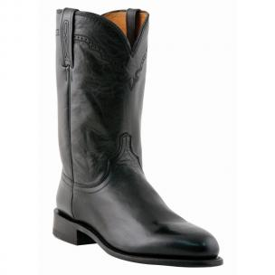 Lucchese M1010.C2 Calfskin Roper Boots Black Image