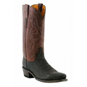 Lucchese M3105.74 Sanded Shark Boots Chocolate Image