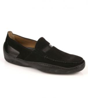 Michael Toschi Mach Driving Shoes Black Suede Image