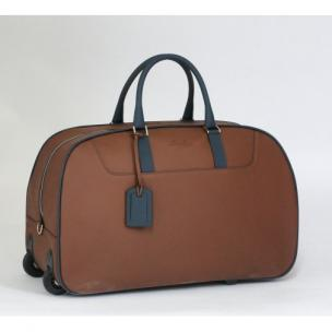Massimiliano Stanco Boston Trolley Bag Brown Image