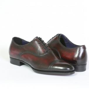 Massimiliano Stanco Goodyear Welted Oxfords Burgundy Image
