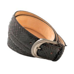 Mauri 100-35 Python Belt Brown Image