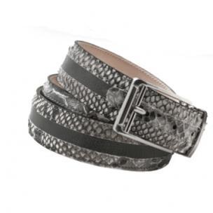Mauri 100-35 Python & Nappa Belt Gray Image
