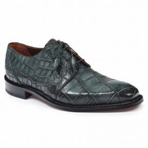 Mauri 1003 Massari Alligator Shoes Olive Image