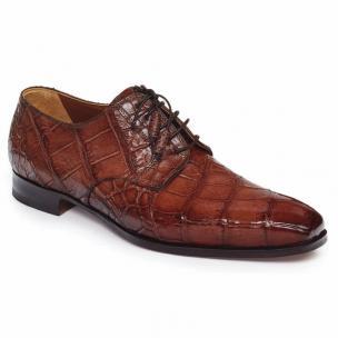 Mauri 1059 Palladio Alligator Shoes Sport Rust Image