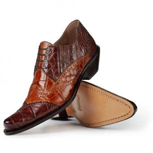 Mauri 44223 Heat Alligator Ankle Boot Sport Rust / Brandy Image