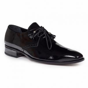 Mauri 4801 Mantegna Patent Leather Shoes Black Image