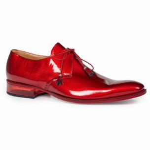 Mauri 4801 Mantegna Patent Leather Shoes Red Image