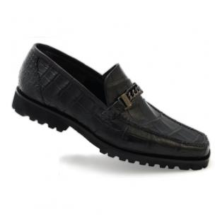 Mauri Certo 3755 Alligator Bit Loafers Black (SPECIAL ORDER) Image
