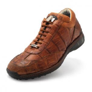 Mauri Swamp 8690 Crocodile Sneakers Cognac Image