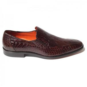 Mezlan Exclusive - 3888C Crocodile Loafers Tan Image