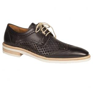 Mezlan Alvarez Perforated Sport Shoes Black Image