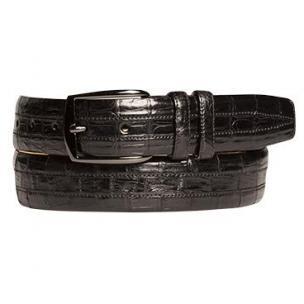 Mezlan AO9929 Crocodile Belt Black Image