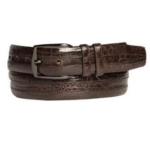Mezlan AO9929 Crocodile Belt Brown Image