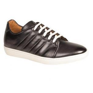 Mezlan Balboa Soft Calfskin Sneakers Graphite Image