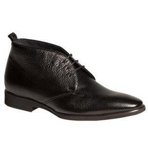 Mezlan Bellotto Deerskin Chukka Boots Black Image