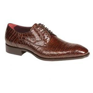 Mezlan Bernard Alligator Lace Up Shoes Sport Image