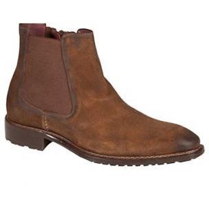 Mezlan Berne Double Side Gore Suede Boots Tan Image