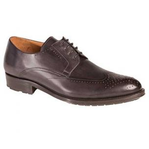 Mezlan Bilbao Wingtip Derby Shoes Graphite Image