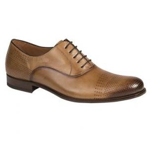Mezlan Bonet Perforated Oxfords Cognac Image