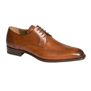 Mezlan Bosch Wingtip Derby Burnished Tan Image