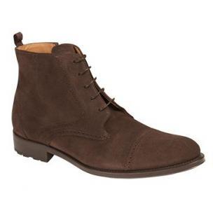 Mezlan Bremen Suede Boots Brown Image