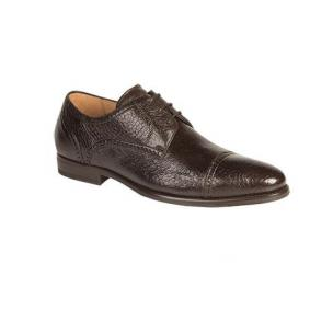 Mezlan Capri Peccary Cap Toe Shoes Brown Image
