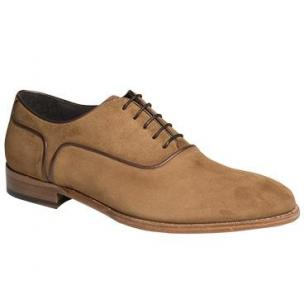 Mezlan Castria Suede Oxfords Tan Image