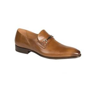 Mezlan Doria Plain Toe Bit Loafers Tan Image