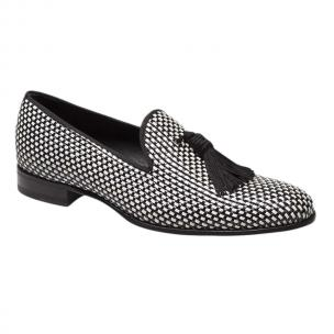 Mezlan Egeo Loafers Black White Image