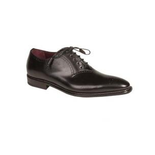 Mezlan Fano Medallion Toe Oxfords Black Image