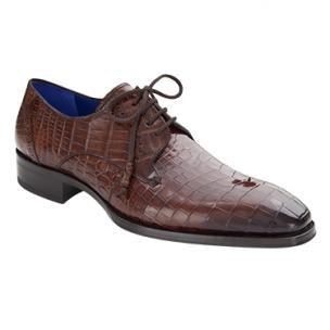 Mezlan Giotto Alligator Derby Shoes Sport Image