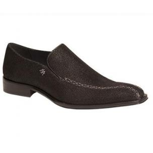Mezlan Gustav Glass Beaded Loafers Black Image