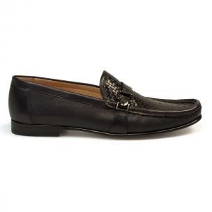 Mezlan Horazio Woven Shoes Black Image