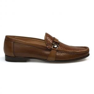 Mezlan Horazio Woven Shoes Cognac Image