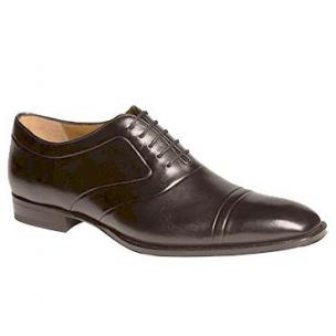 Mezlan Hubert Cap Toe Shoes Black Image