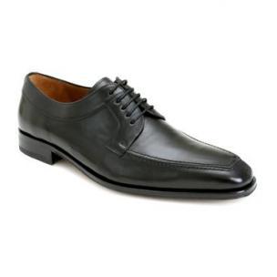 Mezlan Hundley Apron Toe Shoes Black Image